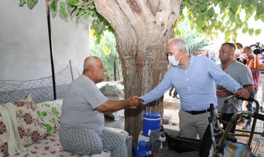 Başkan Gültak, Yeşilçimen Mahallesinde vatandaşlarla buluştu