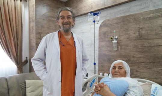 Batman'da kalp krizi geçiren covidli hasta entübe edilmeden bypass ameliyatı ile hayata döndürüldü