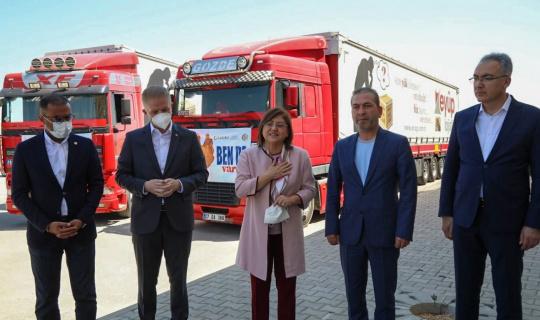 Belediye Başkanı Fatma Şahin maaşını afet bölgelerine bağışladı