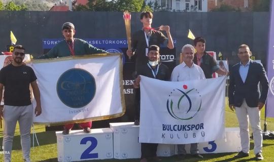 Bulcukspor Kulübü Türkiye şampiyonasından 3 dereceyle döndü
