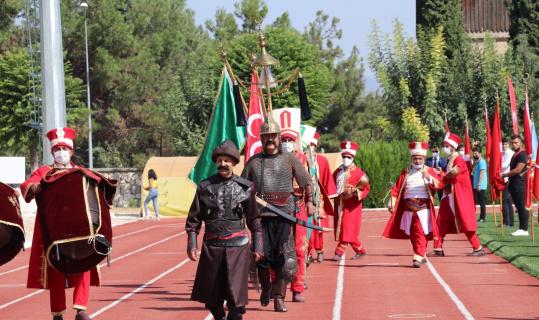 Burdur'da 30 Ağustos kutlamaları çelenk sunma töreni ile başladı