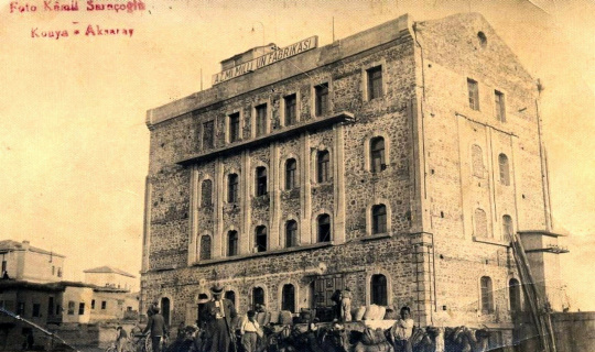 Cumhuriyet Türkiyesi'nin yaşayan tek endüstri mirası; Azm-i Milli Un Fabrikası