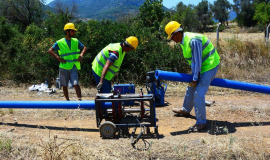 Datça'ya 25 Milyon TL'lik içme suyu yatırımı