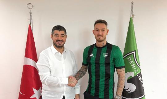 Denizlispor yeni forvet oyuncusunu duyurdu
