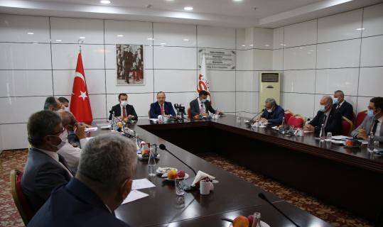Elazığ'da Kamu-Üniversite-Sanayi İşbirliği İl Planlama ve Geliştirme Kurulu dönem toplantısı