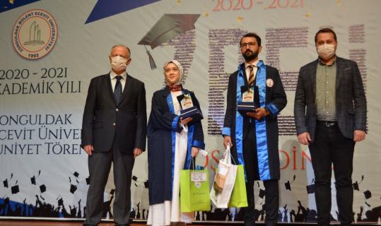 Ereğli Eğitim Fakültesi 21'inci dönem mezunlarını uğurladı