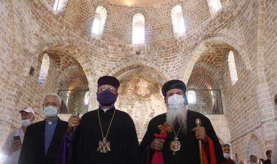 Ermeni vatandaşlar Taşhoron Kilisesi'nde inanç ziyaretlerini yapabilecekler