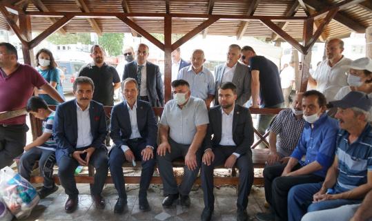 """Fatih Erbakan: """"Afet bölgesinde çok hummalı, ciddi derecede bir çalışma yürütülüyor"""""""