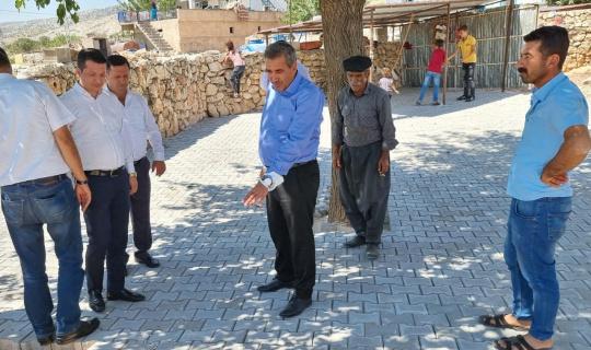 İl Genel Meclis Başkanı Erdoğan Besni'de yatırımları inceledi