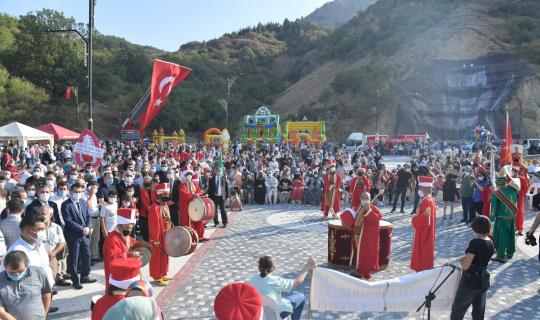 Isparta'nın yeni cazibe merkezi Kirazlıdere açıldı