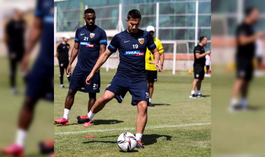Kayserispor, Başakşehir maçı hazırlıklarını tamamladı