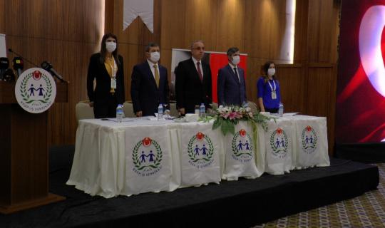 Koop-İş Sendikası Kayseri Şube Başkanı İdris Güven yeniden başkan seçildi