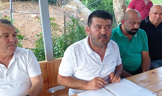 Kozan'da narenciye günlük yevmiyesi 105 lira