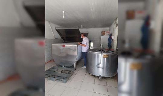 Lapseki'de 'Tarladan Sofraya Güvenilir Gıda Denetimleri' yapılıyor