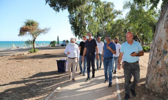 Mezitli Belediyesinden bir halk plajı daha