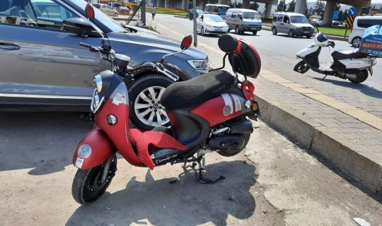 Motosikletler çarpıştı: 2 yaralı