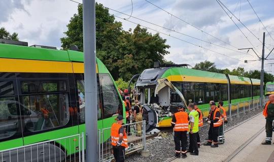 Polonya'da tramvay kazası: 31 yaralı
