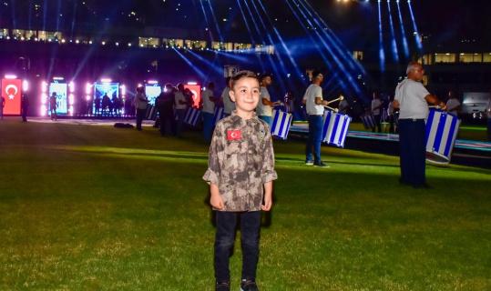 Şehit çocuğu Fatih Selim'e Adana Demirspor-Beşiktaş maçı jesti