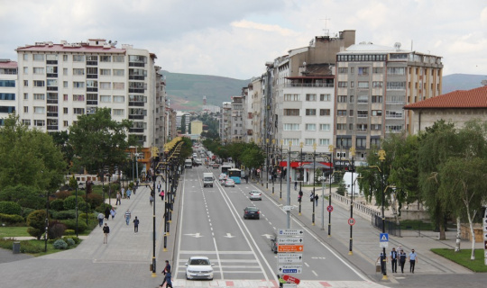 Sivas'ta 6 ayda bin 269 senede protesto çekildi