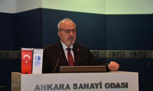"""ASO Başkanı Özbebir: """"Ekonomide son dönemde sanayi ve ihracat odaklı bir büyüme performansı ortaya koyuyoruz"""""""