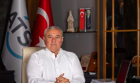"""ATSO Başkanı Çetin: """"Görülmemiş yangınlara, görülmemiş sellere hazırlıklı olmamız gerekiyor"""""""