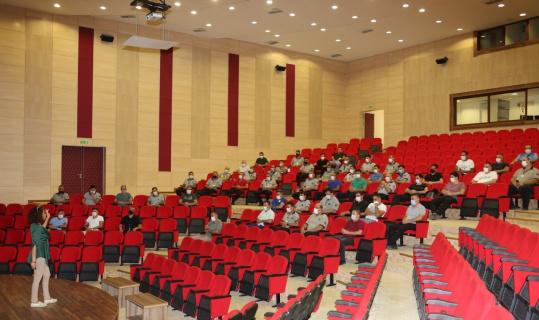 AÜ'de güvenlik görevlilerine 'Etkili İletişim' semineri verildi
