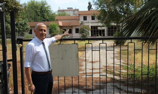 Aydın'ın eski müze binası bağımlıların ve hırsızların uğrak mekanı oldu
