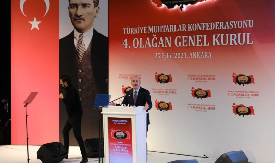 """Bakan Soylu: """"Bugün Türkiye'deki toplam terörist sayısı 189'a indi"""""""
