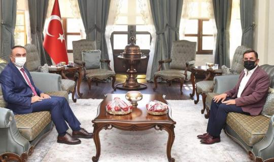 Başkan Şimşek'ten Vali Soytürk'ten biber için destek istedi
