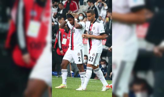 Beşiktaş'ta Welinton ve Rosier 11'e döndü