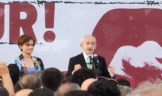 CHP İstanbul İl Başkanlığının yeni binası açıldı