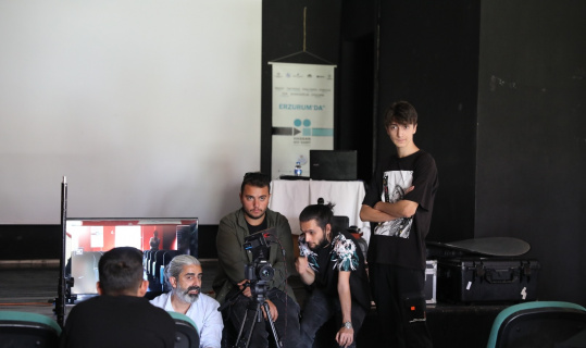 Gençlere sinema eğitimi