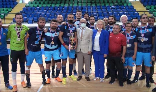 Görme engelliler futsalda şampiyon Adana oldu