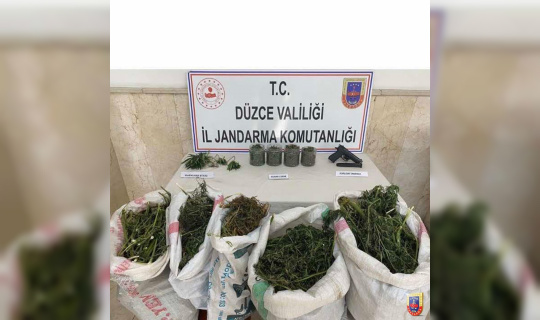 Jandarma Genel Komutanlığı'ndan Düzce paylaşımı