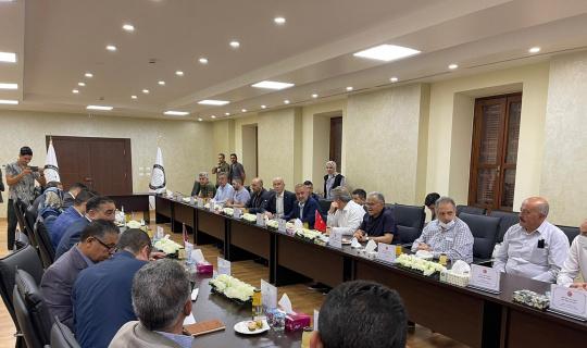 Kardeş Şehir Başkanları Libya'da buluştu