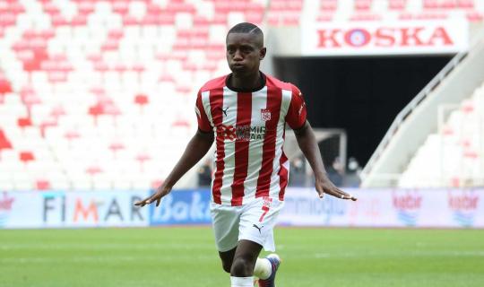Max Gradel, Sivasspor'da siftah yaptı
