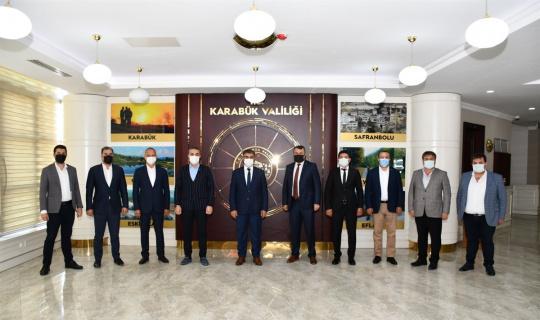 MÜSİAD, Vali Gürel'i ziyaret etti