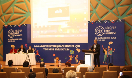 Nilüfer Kent Konseyi'nde genel kurul heyecanı
