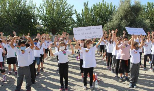 Ortaca'da İlköğretim Haftası etkinliği