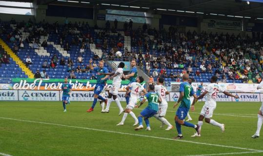 Süper Lig: Çaykur Rizespor: 0 - A. Hatayspor: 0 (İlk yarı)
