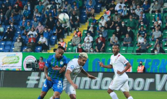Süper Lig: Çaykur Rizespor: 0 - A. Hatayspor: 2 (Maç sonucu)