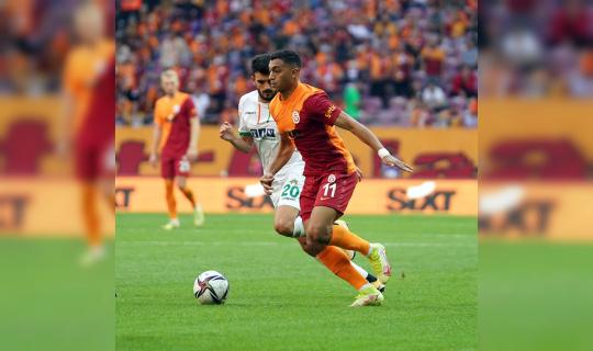 Süper Lig: Galatasaray: 0 - Aytemiz Alanyaspor: 1 (Maç sonucu)