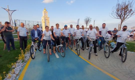Tekirdağ'da bisiklet turu