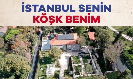 """Tevfik Göksu'dan İmamoğlu'na """"Rumeli Hisarı'na köşk"""" sorusu"""