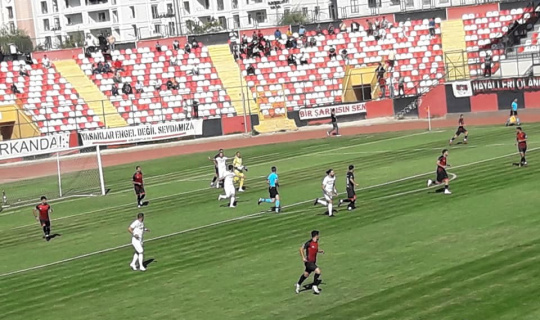 TFF 2. Lig: Vanspor FK: 3 - Diyarbekir Spor A.Ş: 1