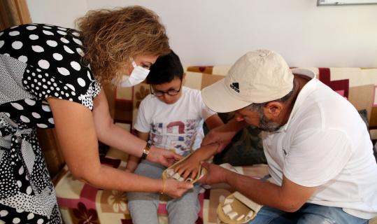 Van Büyükşehir, engellilerin yardımına koşuyor