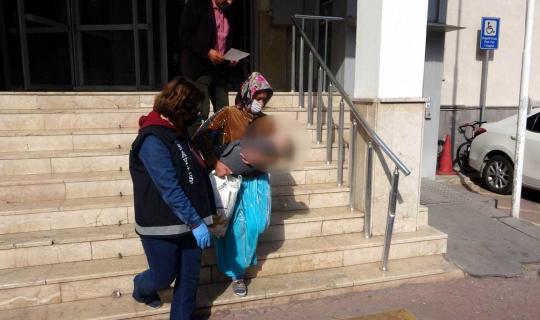 35 yıl 10 ay kesinleşmiş hapis cezası olan kadın yakalandı