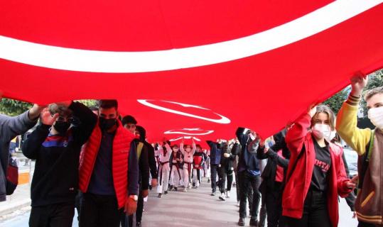Amatör Spor haftası yürüyüşü yapıldı