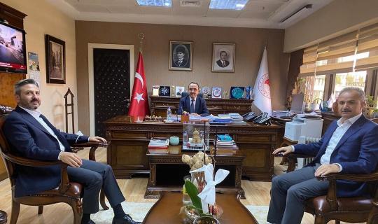 Başkan Kılınç, Ankara'da temaslarda bulundu