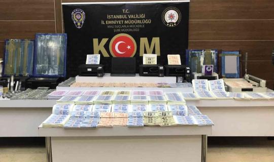İstanbul'da sahte para operasyonu: 2 şüpheli yakalandı